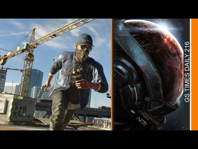 Gs Times на GameZonaPSTv: Mass Effect: Andromeda, Watch Dogs 2, Battlefield 1 (09.06.2018)