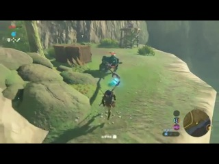 Looks like Skyrim's physics made its way into BotW 🐎😆 (via r/Gaming; no audio) - Coub - GIFs with sound