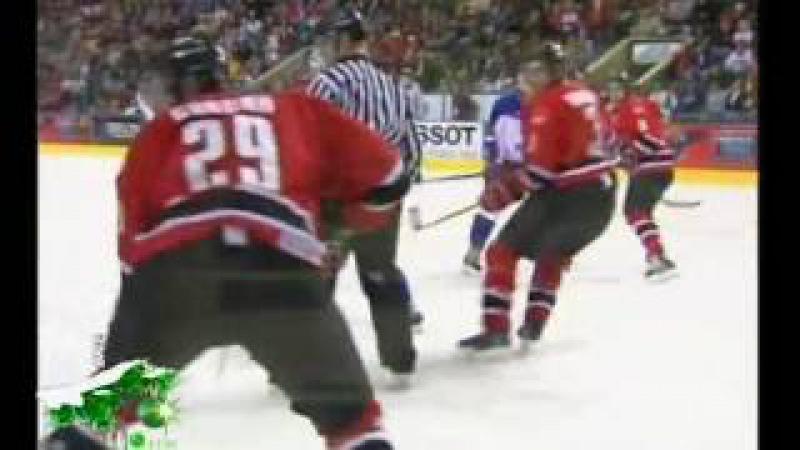 МЧМ 2005 Финал: Россия -- Канада 1:6 (будущие молодые звезды Канады)