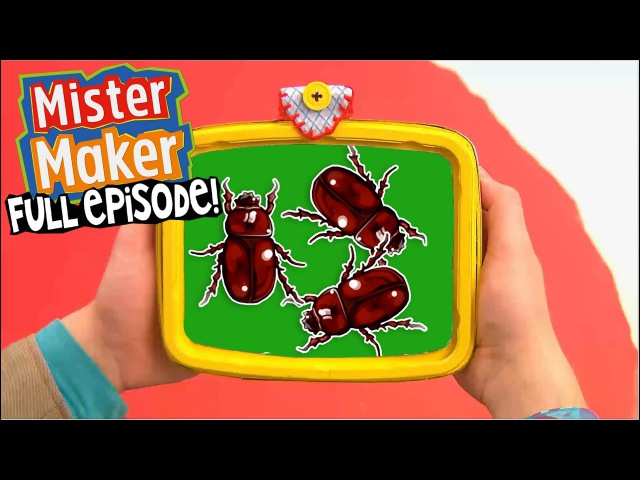 Insects! | FULL EPISODE | Mister Maker's Arty Party