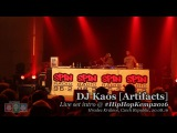DJ Kaos Artifacts live set intro @ Hip Hop Kemp 2016
