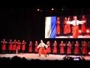 Танцевальный поединок украинского ансамбля танца им.Вирского и грузинского ансамбля Рустави