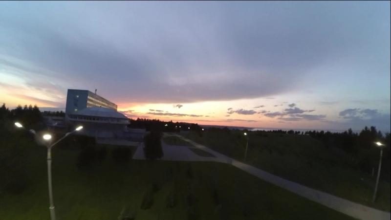 Полёт на закате ZMR250