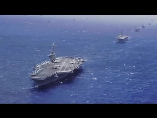 The US Navy 7th Fleet. Седьмой Флот США у берегов России. Путин в панике.