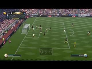 Удивительное невезение в матче FIFA 17.