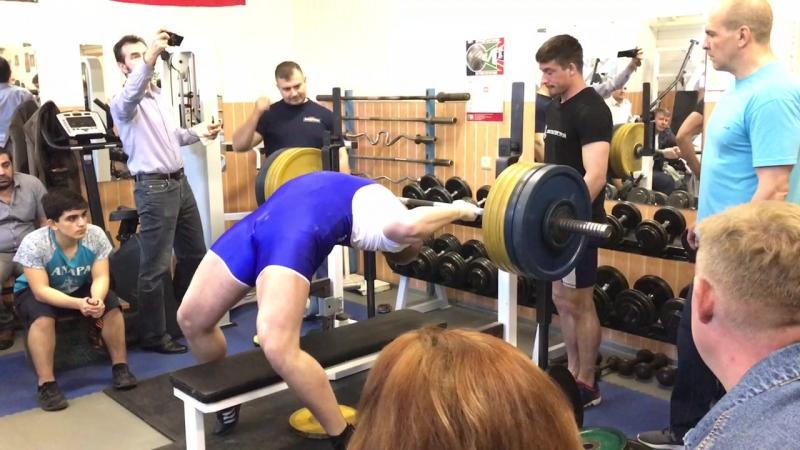 Удельнинский жим 195 кг Рекорд мой!
