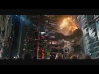 Человек паук и новый гоблин против Веном и песочного человека финальная битва