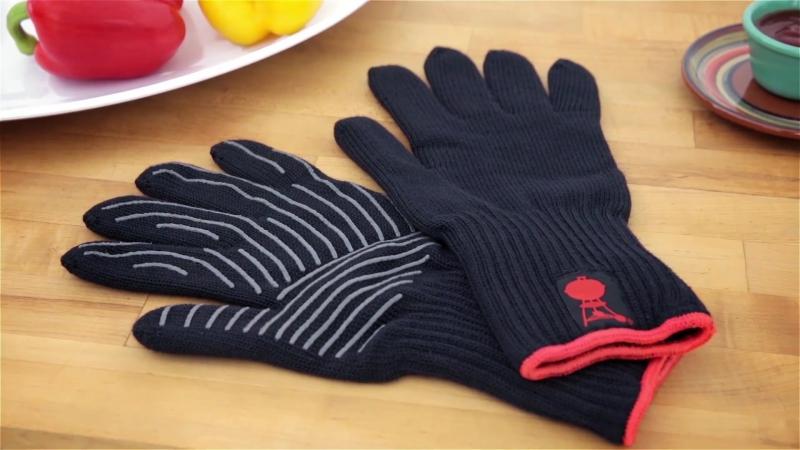 Жаропрочные перчатки для гриля Weber