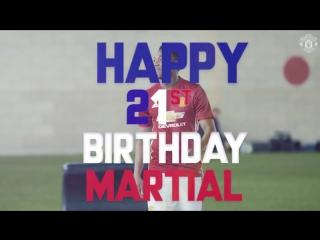 Happy birthday, Anthony Martial!