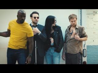 Защитники / The Defenders.1 сезон.Фотосессия EW (2017) [HD]