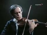 Коган играет 1-й концерт Паганини на скрипке самого Никколо