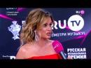 Ксения и Маруся Бородина на красной ковровой дорожке премии RU TV 2017