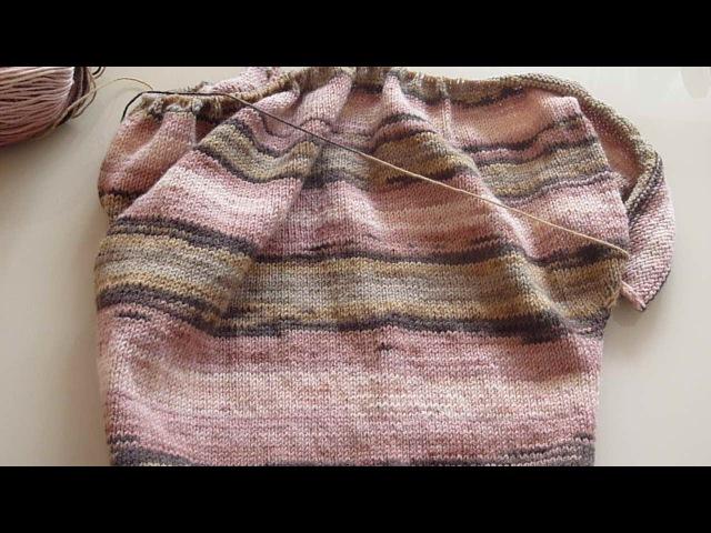 Свитер для начинающих, летучая мышь часть 2/Sweater for beginners, bat part 2