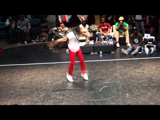 Rickysoul (OTrip House) VS Candyman (Badness) Circus Battle 2