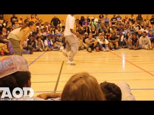 AOD 2011 - Finale Battle House Dance - Ricky Soul Mich Vs. Pastora Bembika