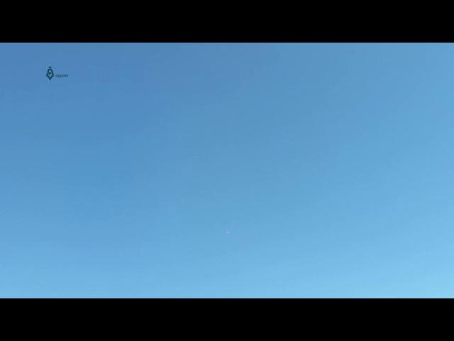 Су-35С работает из пушки по террористам ИГИЛ