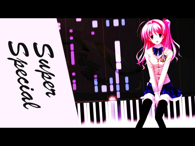 [VSTi Synthesia] Chaos;HEad ED - Super Special | Not Piano Tutorial, カオスヘッド【ピアノ】(Mutant duet)