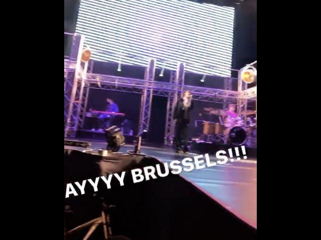 Репетиції для Got Me Started TOUR в Брюсселі, Бельгія
