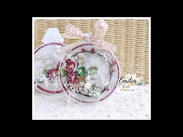 Christmas in July - Ornament Cards Tutorial