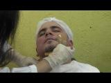 Depilação Masculina, fazendo a barba com Neusa Baptista