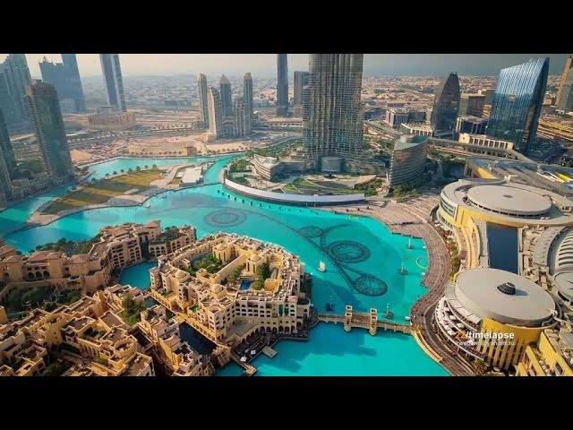 Дубай, Арабские Эмираты. Крутая съемка с дрона. Отели и отдых
