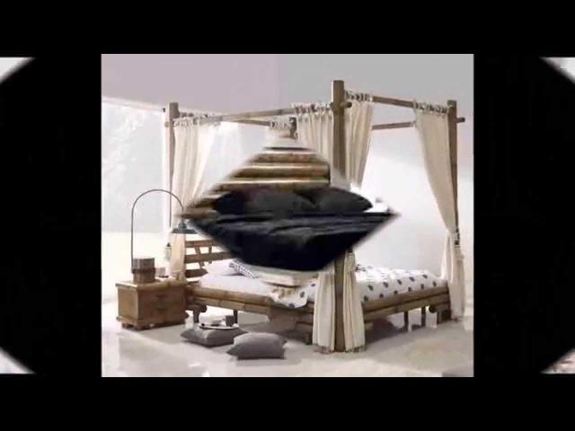 Schlafzimmermöbel Afrika Style - Wohnideen ethnisches Design