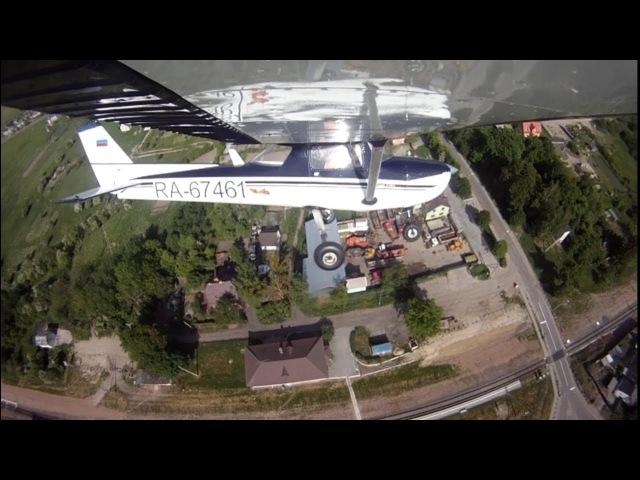 Полет на самолете Cessna F 150L над Калининградской обл.