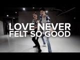 1MILLIONDanceStudio  Love Never Felt So Good - Michael Jackson  Bongyoung Park &amp May J Lee Choreography