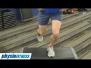 Single Leg Step Down for VMO strengthening and knee pain Feat Tim Keeley No 3 Physio REHAB