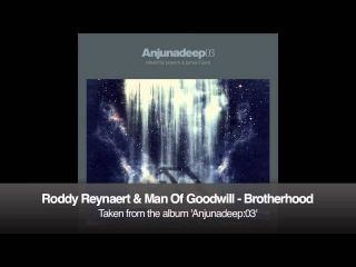 Roddy Reynaert Man Of Goodwill - Brotherhood