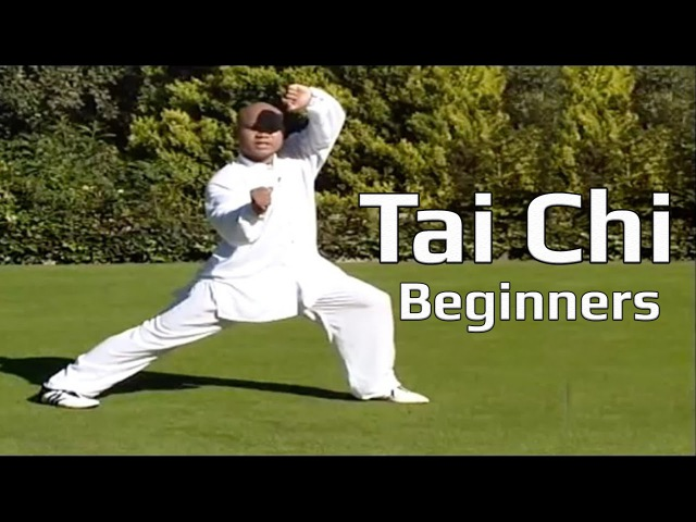 Tai chi chuan for beginners - Taiji Yang Style form Lesson 8