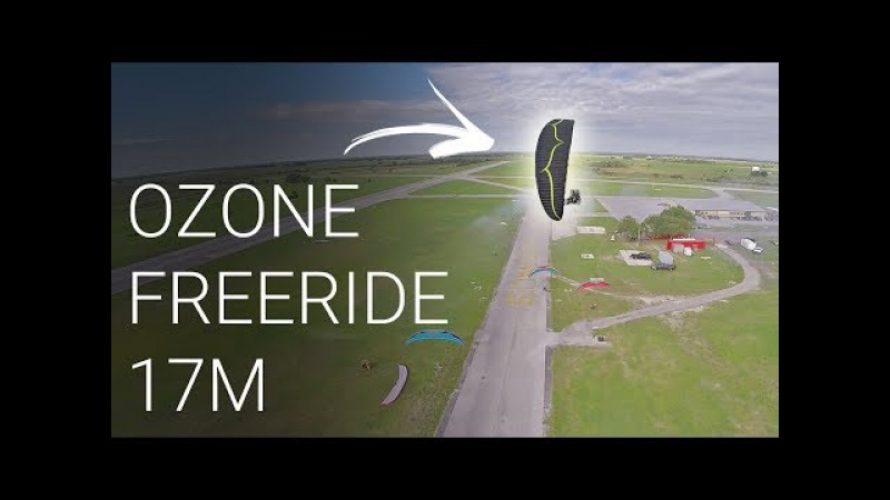 Test Flying A New Wing!! - Ozone FreeRide 17m