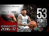 Isaiah Thomas Full Highlights 2017 ECSF Game 2 vs Wizards - EPIC 53 Pts, CLUTCH on Sister's BDay!