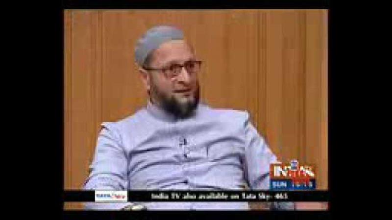 Asaduddin owisi interview in ajj ko adalt