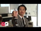 Walking Dead Star Steven Yeun's Guide to Surviving a Zombie Apocalypse (at the Office) | GQ