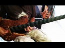 MICHAEL MANRING BLUE ORLEANS COVER by Jesus Rico on a JCR custom bass