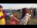 Luftballon Aktion beim Summer Breeze 2016 Die Tiere sind los