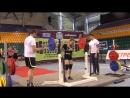 Герасимова Дарья. Присед 115 кг (2 подход)