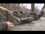 Расстрел пленного ополченца ДНР
