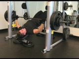 Decline bench press, 10 x 255. Happy Friday everyone )