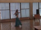 Танцует любимая внученька!