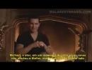 Michael Malarkey fala sobre um momento ao lado de Nina Dobrev nos bastidores de The Vampire Diaries na S5. Crédito no vídeo!