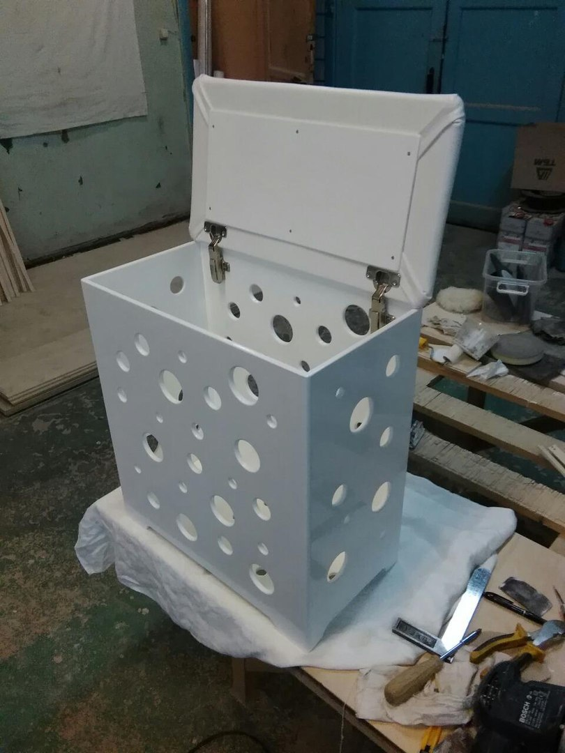 Пуфик в ванную комнату мебель дизайн комнаты зал