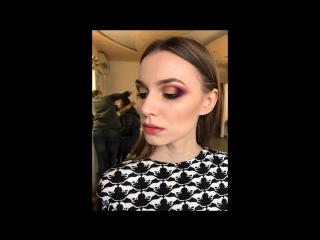 Яркий макияж с пигментами #визажист #херсон #визаж #пигменты #makeupbyme