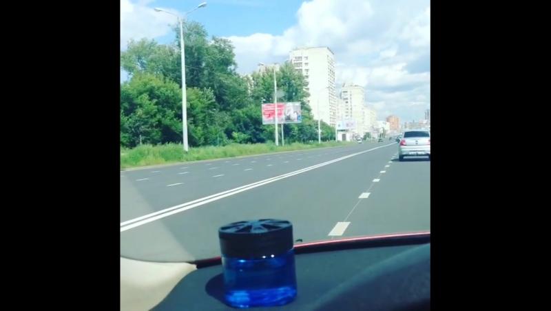 Как же я люблю лето🌤 голубое небо ☁️дорогу 🚘🛣 хоро... Казань 22.07.2017