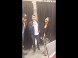 David Anders, Karen David and Sean Maguire Phoenix Comicon