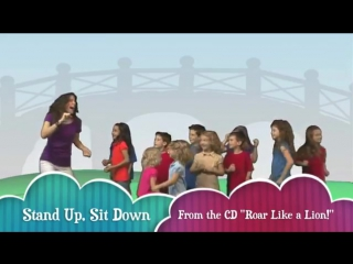 Stand up  sit down childrens song by patty shukla - popular nursery rhymes for kids and toddlers