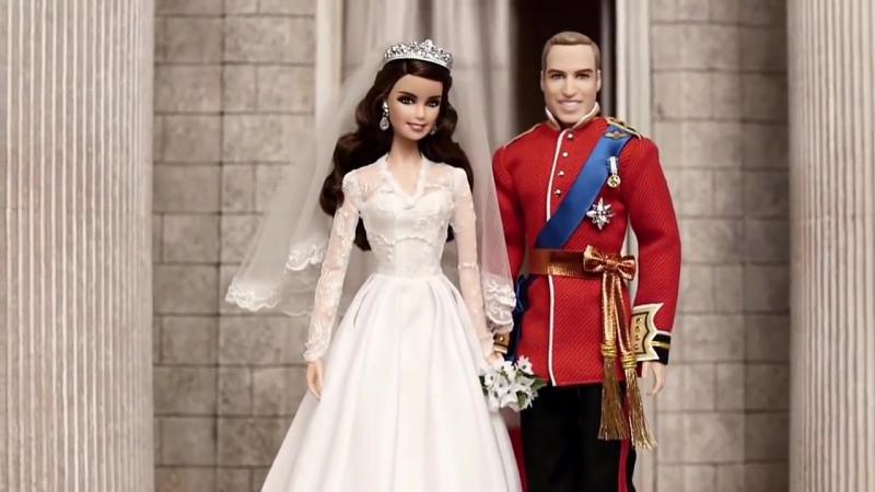 Кукла Барби Королевская Свадьба Уильяма и Кэтрин. William And Catherine Royal We.ru