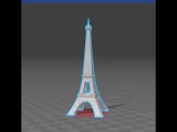 Stl-модель Эйфелевой башни