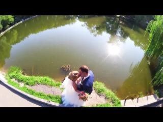 Андрей и Ольга, свадебная прогулка и любовная история.